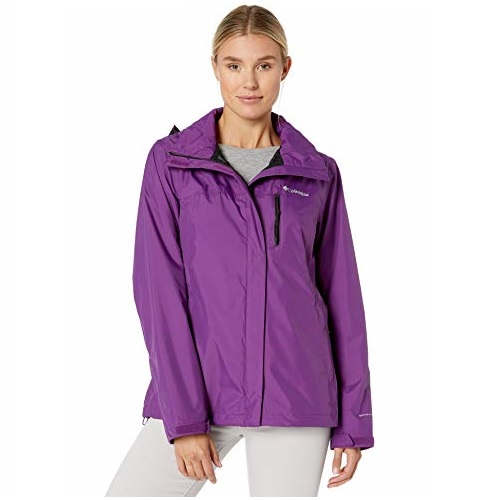 Columbia Women's Pouration Waterproof Rain Jacket