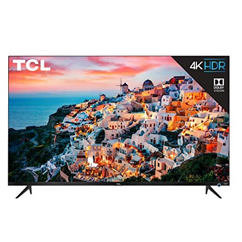 "TCL 50"" Class 5-Series 4K UHD Dolby Vision HDR Roku Smart TV - 50S525 $254.99"