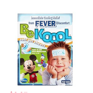 Be Koool Soft Gel Sheets for Kids, 4 count