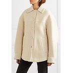 ACNE STUDIOSOcilia cotton, wool and alpaca-blend jacket
