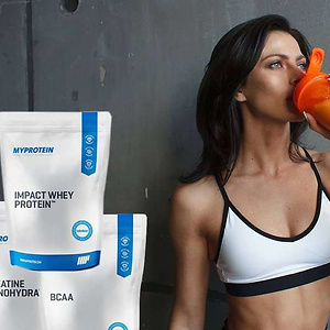 Myprotein (US): 60% Off + Extra 25% Off + 3 Free Gifts