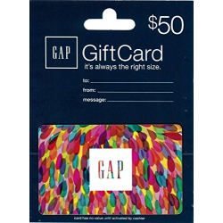 $50 Gap Gift Card for