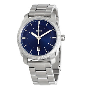 Fossil Machine Blue Dial Stainless Steel Men's Watch FS5340 Fossil Machine Blue Dial Stainless Steel Men's Watch FS5340 Fossil Machine Blue Dial Stainless Steel Men's Watch FS5340 FOSSIL Machine Blue Dial Stainless Steel Men's Watch