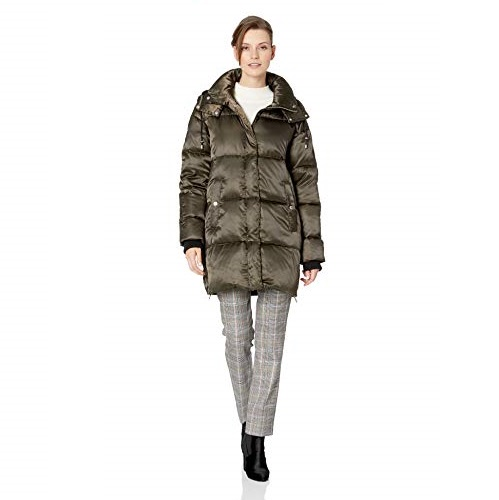 Vince Camuto Women's Thigh Length Puffer Down Jacket
