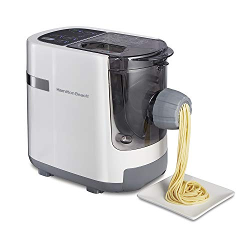 Hamilton Beach Electric Pasta and Noodle Maker, Automatic, 7 Different Shapes, White (86650) $88.18