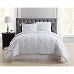 Pleated Twin XL Comforter Set