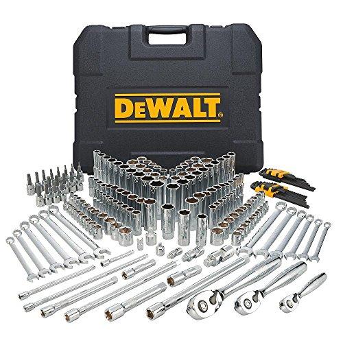 DEWALT DWMT72165 204 Piece Mechanics Tool Set