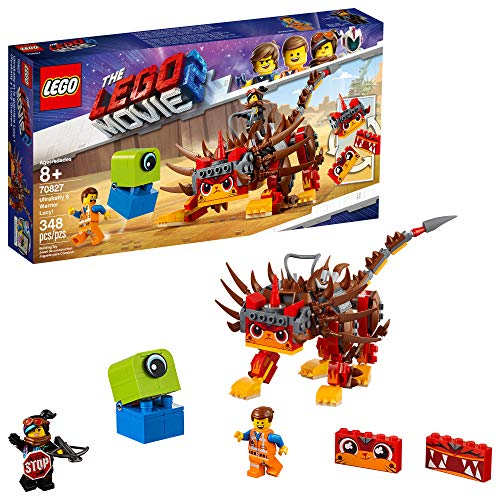 LEGO The Movie 2 Ultrakatty & Warrior Lucy! 70827 Building Kit (383 Piece)