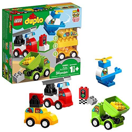 LEGO 乐高 得宝系列 10886 我的创意汽车收藏馆