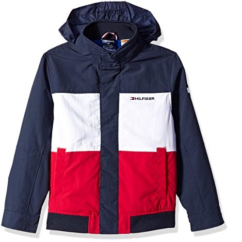 Tommy Hilfiger Boys' Adaptive Regatta Jacket with Magnetic Buttons