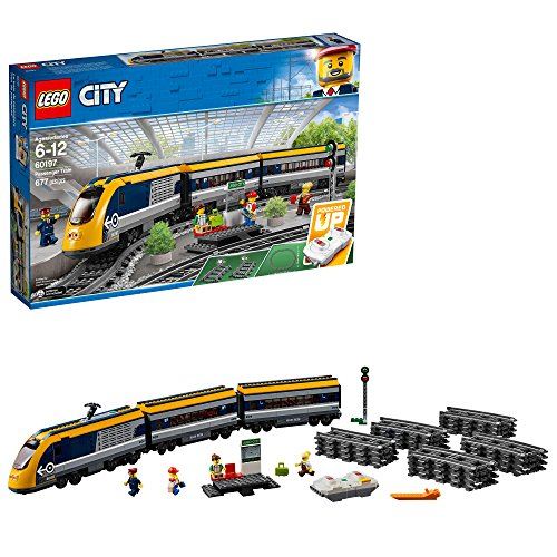 LEGO 乐高City 城市系列60197客运火车