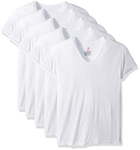 史低价!速抢!Hanes ComfortBlend 男士V领衫,5件 $7.50