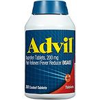Advil 布洛芬抗炎止痛退烧片200毫克,300粒