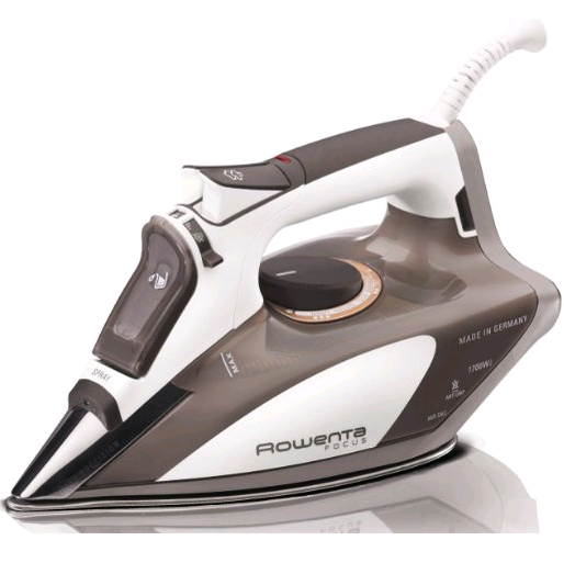Rowenta DW5080 Focus 1700-Watt Micro Steam Iron Stainless Steel Soleplate with Auto-Off, 400-Hole, Brown $52.99 FREE Shipping
