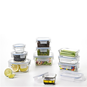 Glasslock Food Storage Container Sets-20pc