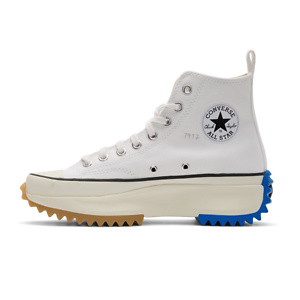 JW Anderson  White Converse Edition Run Star Hybrid Hi Sneakers