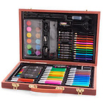 Anker Play 85pc. Deluxe Wooden Art Set