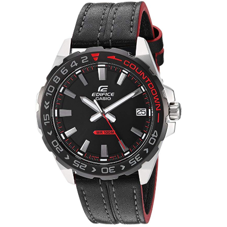 Casio Men's Edifice Quartz Watch $49.55