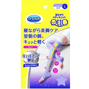 Dr. Scholl Japan Medi QttO Sleep Wearing Slimming Socks