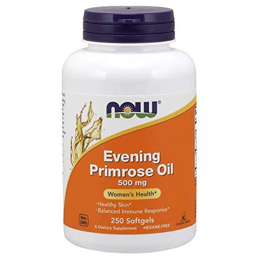 NOW Foods Evening Primrose Oil 500 mg,250 Softgels