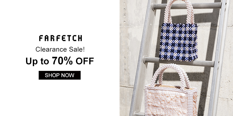 Farfetch: Clearance Sale!  Up to 70% OFF