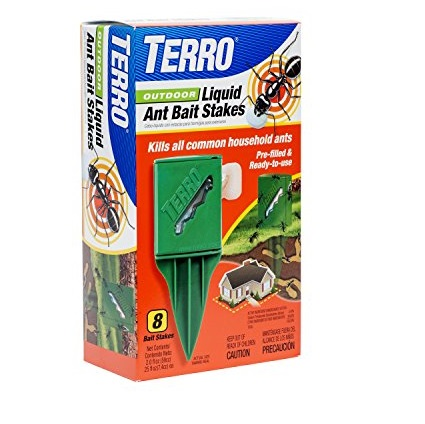 TERRO T1812 室外用液体蚂蚁棒 8个装