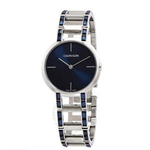 Calvin Klein Cheers Quartz Blue Dial Ladies Watch K8NZ3VVN