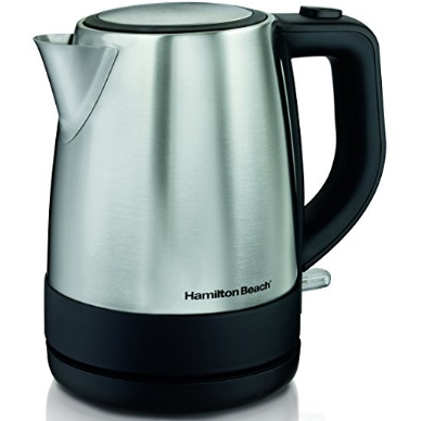 Hamilton Beach 40998 1 L Stainless Steel Electric Kettle, Silver $15.22 FREE Shipping on orders over $25