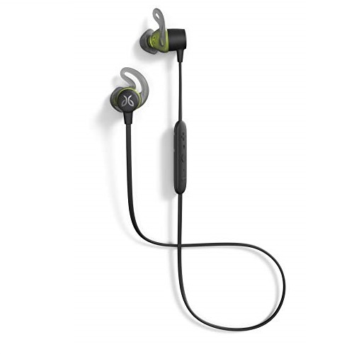Jaybird Tarah Bluetooth Wireless Sport Headphones for Gym Training, Workouts, Fitness and Running Performance: Sweatproof and Waterproof - Black Metallic/Flash