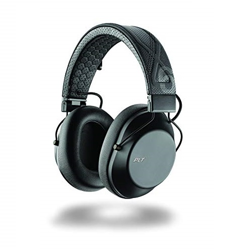 Plantronics BackBeat FIT 6100 Wireless Bluetooth Headphones, Sport, Sweatproof and Water-Resistant, Black