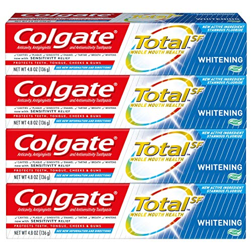 白菜价!速抢!Colgate高露洁 强效美白牙膏, 4.8 oz/支,4支装