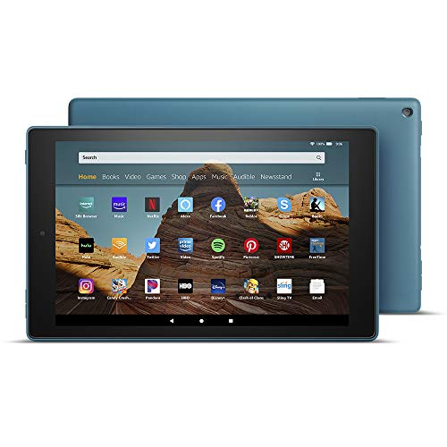 "All-New Fire HD 10 Tablet (10.1"" 1080p full HD display, 32 GB) - Twilight Blue"