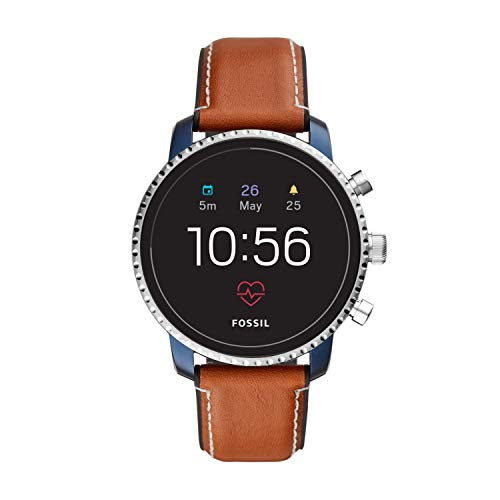 史低价! Fossil Explorist HR 第四代不锈钢触屏智能手表