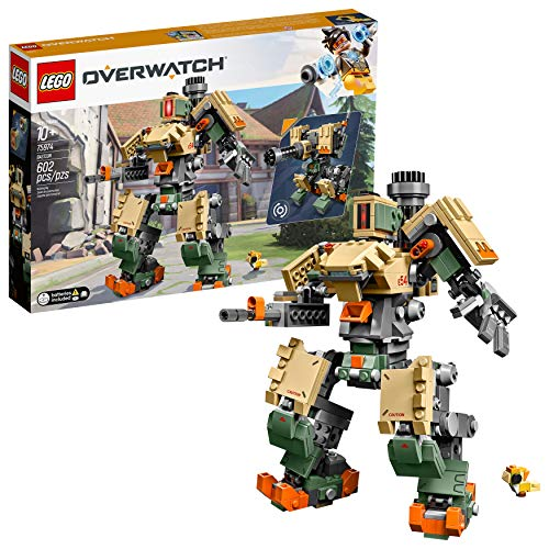 LEGO 6250958 Overwatch 75974 Bastion Building Kit, Overwatch Game Robot Action Figure (602 Pieces) $32.99