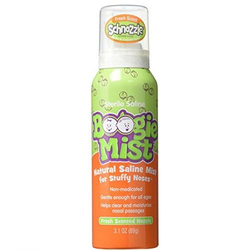 Boogie Mist 儿童盐水鼻喷雾剂,3.1 oz