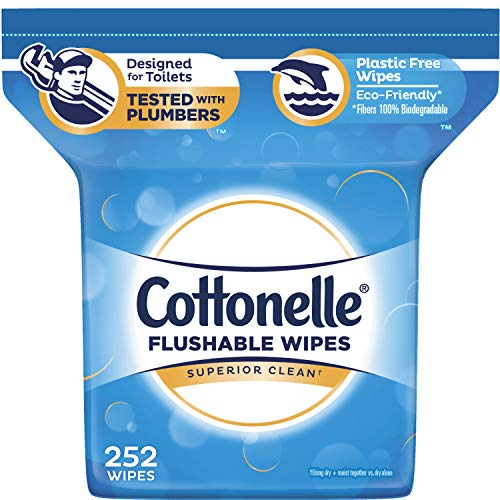 史低价!Cottonelle Fresh Care 湿巾,252张