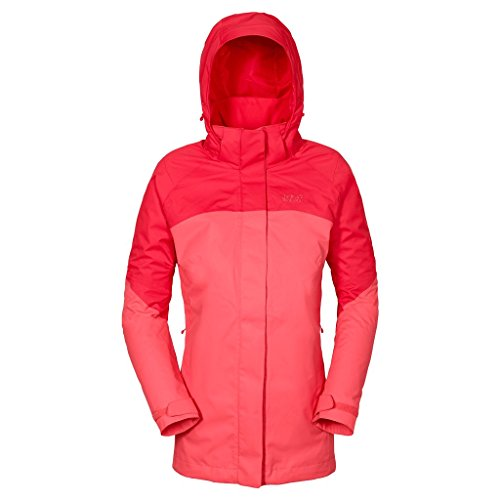 Jack Wolfskin Women's Shelter Jacket, Grapefruit, Small