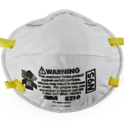 3M Particulate Respirator 8210, N95 (Pack of 20) $15.79