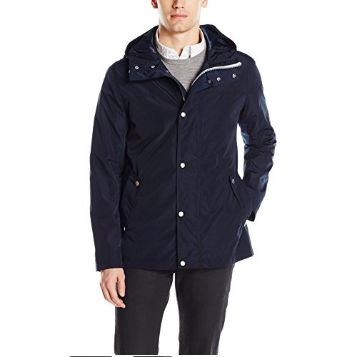 Cole Haan Signature Men's Hooded Rain Jacket