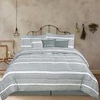Marigold Grove™ Farmhouse Stripes 7pc. Comforter Set