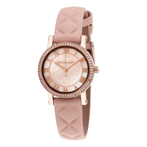 MICHAEL KORS Petite Norie Mother of Pearl Dial Ladies Watch