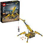 LEGO Technic Compact Crawler Crane 42097 Building Kit (920 Pieces)