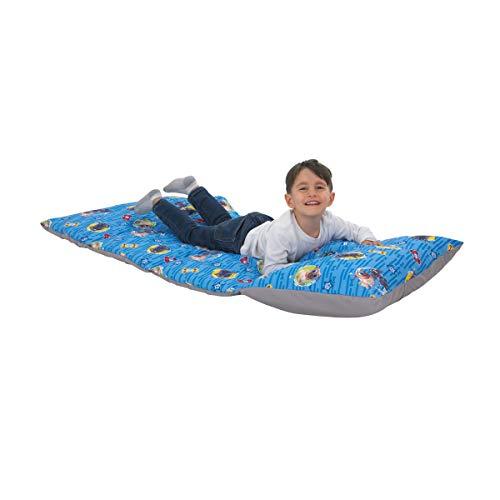 史低价! Disney 儿童午睡垫+枕套,可折叠收纳