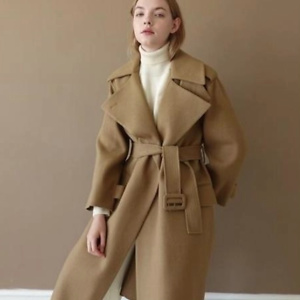 LE (PRIORITY SHIPPING)HANDMADE OVERSIZE TRENCH COAT