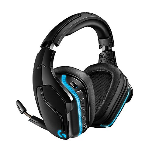 Logitech G935 Wireless 7.1 Surround Sound Lightsync PC Gaming Headset (Stereo Wired - PS4, Xbox One, Nintendo Switch)