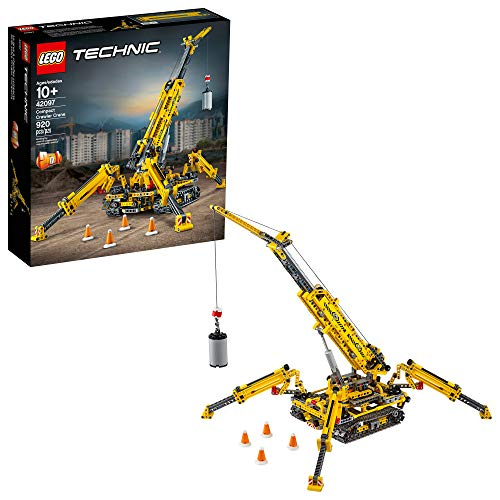 LEGO Technic Compact Crawler Crane 42097 Building Kit (920 Pieces) $79.99