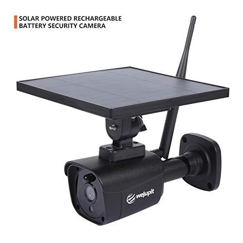 功能强大!容易安装!WeJupit 太阳能供电 室外无线 1080P 安全监控摄像头