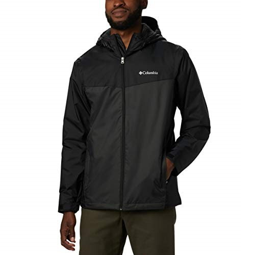 Columbia Men's Glennaker Sherpa Lined Rain Jacket, Waterproof