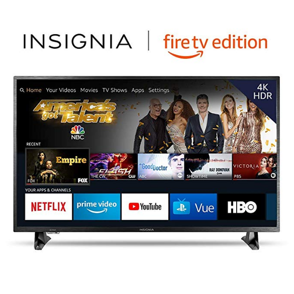 Deal of the Day:Insignia NS-50DF710NA19 50-inch 4K Ultra HD Smart LED TV HDR - Fire TV Edition $249.99 free shipping