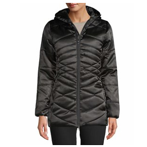 Climate Concepts Women's Satin Finish Long Parka
